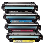 Compatible HP Color CM3530 Series Toner Set