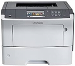 Lexmark MS610DE Laser Printer Refurbished