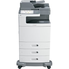 Lexmark X792DTE Laser MFP Printer Refurbished 47B1001