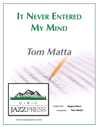 It Never Entered My Mind - PDF Download, by Tom Matta