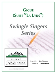 Gigue - Suite in C Major (GB-5) - PDF - Download - 10 Copies,<em> by Ward Swingle</em>