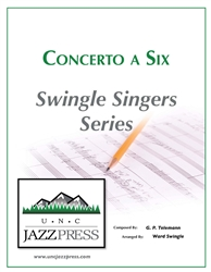 Concerto a Six (RG-1) - PDF Download 12 Copies,<em> by Ward Swingle</em>