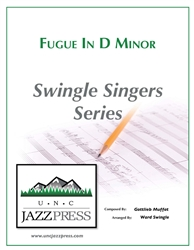 Fugue in D Minor (RG-4) - PDF Download - 10 Copies,<em> by Ward Swingle</em>