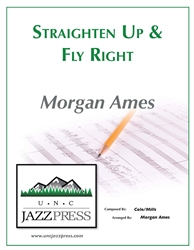 Straighten Up and Fly Right - SSAB - PDF Download - 16 Copies,<em> by Morgan Ames</em>