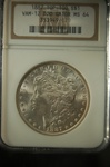 NGC Certified 1887 Morgan Dollar VAM-12 DDO Gator MS-64