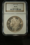 NGC Certified 1879 S Morgan Dollar MS-66