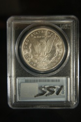 PCGS Certified 1879 S Morgan Dollar MS-65