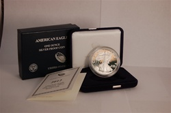 2012 Proof Silver Eagle w Box
