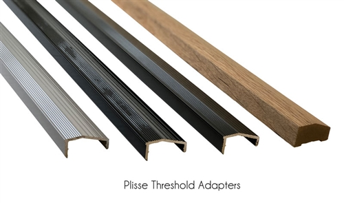 "Threshold Adapter: Up to 36"" Wide"
