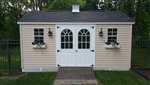 "SET of 35 3/4"" x 78"" 11 Lite Fiberglass Garden Doors  CLICK PICTURE FOR MORE DETAILS"