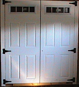 2-30 1/2  x 78  4 Lite Fiberglass Doors SHIPPING IS & 30 1/2