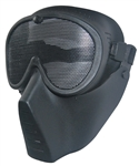 Airsoft Tactical gear wholesale distributor dropshipper TG008AB-5 Black Metal Mesh Protective Mask (5 pcs) - 3L-INTL