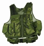 TG100C Woodland Camouflage Deluxe Tactical Vest - 3L-INTL