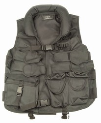 TG102B Black Tactical Vest with Soft Collar - 3L-INTL