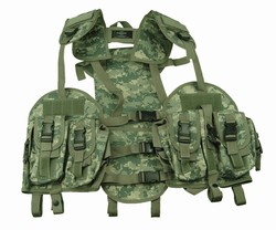 TG103A ACU Camo Tactical Vest with Hydration Pouch - 3L-INTL