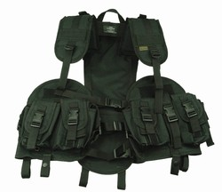 TG103B Black Tactical Vest with Hydration Pouch - 3L-INTL