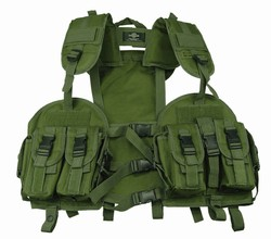 TG103G OD Green Tactical Vest with Hydration Pouch - 3L-INTL