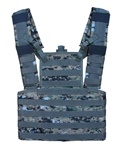 TG113W Woodland Digital Camouflage MOLLE Tactical Chest Rig - 3L-INTL