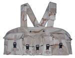 TG115D Desert Camouflage 7-Pouch Chest Rig - 3L-INTL
