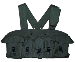 TG115G OD Green 7-Pouch Chest Rig - 3L-INTL