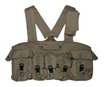 TG115T Tan 7-Pouch Chest Rig - 3L-INTL