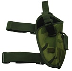 TG204CR-4 Woodland Camo Elite Tactical Leg Holster Right Handed (4 pcs) - 3L-INTL