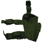 TG204GR-4 OD Green Elite Tactical Leg Holster Right Handed (4 pcs) - 3L-INTL