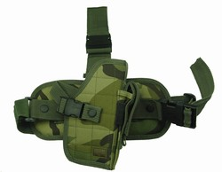 TG207CR Woodland Camouflage Drop Leg Gun Holster Right Handed - 3L-INTL