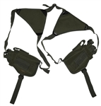 TG208GB-2 Green Horizontal Shoulder Holsters (2 pcs) - 3L-INTL