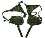 TG208WB-2 Woodland Digital Camo Horizontal Shoulder Holsters (2 pcs) - 3L-INTL