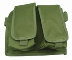 TG211G OD Green Double Drop Leg Magazine Pouch - 3L-INTL