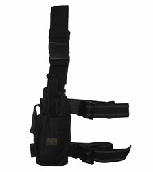 TG214BL Black Tornado Tactical Leg Holster Left Handed - 3L-INTL