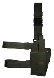 TG214GR OD Green Tornado Tactical Leg Holster Right Handed - 3L-INTL