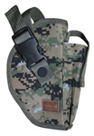 TG218WR-6 Woodland Digital Deluxe Commando Belt Holster Right Handed (6 pcs) - 3L-INTL