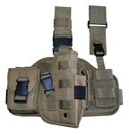 TG221TR Tan Tactical Thigh Holster Right Handed - 3L-INTL