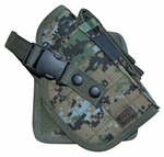 TG244WR Woodland Digital Camo MOLLE Cross Draw Holster Right Handed - 3L-INTL