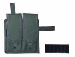 TG247G OD Green Velcro Attachable Double Magazine Pouch - 3L-INTL
