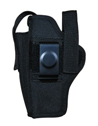 TG260B14-6 Black Ambidextrous Belt Holster with pouch Size 14 (6 pcs) - 3L-INTL