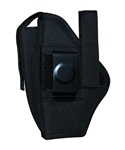 TG260B16-6 Black Ambidextrous Belt Holster with pouch Size 16 (6 pcs) - 3L-INTL