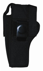 TG260B28-6 Black Ambidextrous Belt Holster with pouch Size 28 (6 pcs) - 3L-INTL