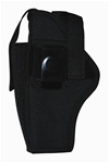 TG260B34-6 Black Ambidextrous Belt Holster with pouch Size 34 (6 pcs) - 3L-INTL