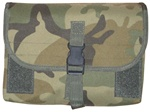 TG300C Woodland Camo MOLLE Gas Mask/Drum Mag Pouch - 3L-INTL