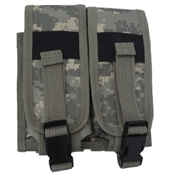 TG305A ACU Digital Camouflage MOLLE Double Rifle Mag Pouch - 3L-INTL