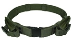 TG402G-2 OD Green Tactical Utility Belt with Mag Pouches up to Size 46 (2 pcs) - 3L-INTL
