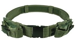 TG402R-2 Gray Tactical Utility Belt with Mag Pouches up to Size 46 (2 pcs) - 3L-INTL