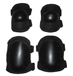TG604B Black Advanced Elbow and Knee Pads - 3L-INTL