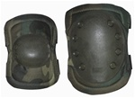 TG604C Woodland Camouflage Advanced Elbow and Knee Pads - 3L-INTL