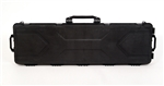 "TG808B-50 Black 50 1/4"" Plastic Gun Case with Wheels - 3L-INTL"
