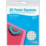 3L Scrapbook Adhesives 3D  Self-Adhesive Foam Squares Variety Pack 217/Pkg
