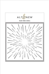 Altenew - 6x6 Stencil Warp Speed